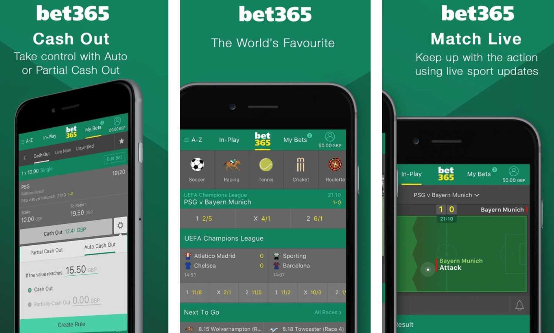 Bet365 կայքի բջջային տարբերակի և բջջային հավելվածի հիմնական տարբերությունները